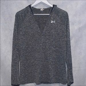 Under Armour grey top size S